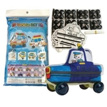 Play N Learn Colorloon / 3D Vehicle DIY Kit - Police Car ( 10 PCS )