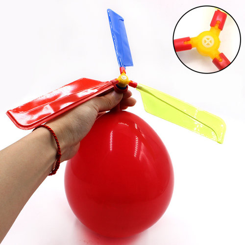 Science Educational Toy For Kids Play N Learn Balloon Helicopter