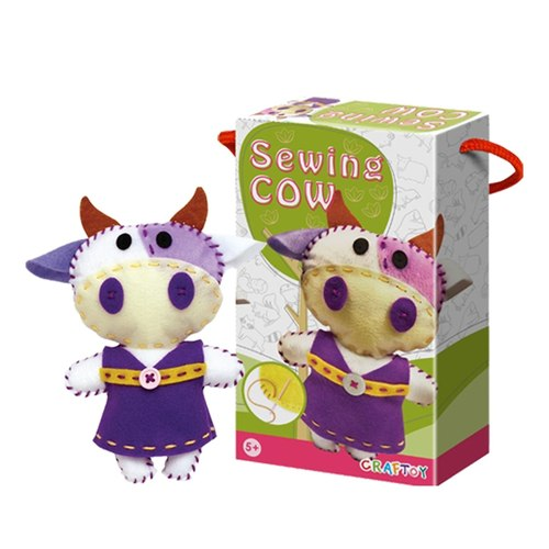 Cow DIY Sewing Kit