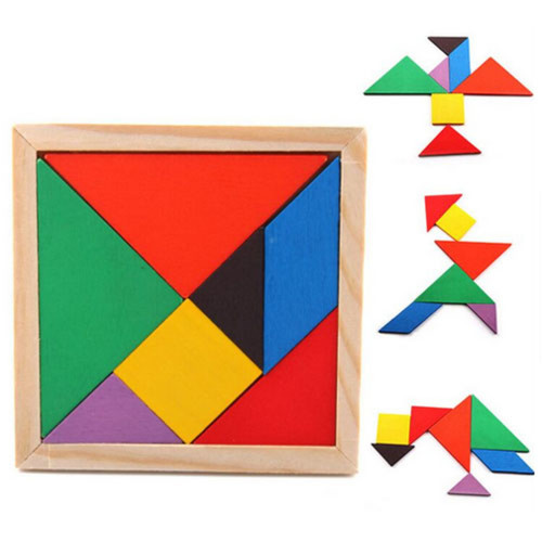 Play N Learn Wooden Tangram