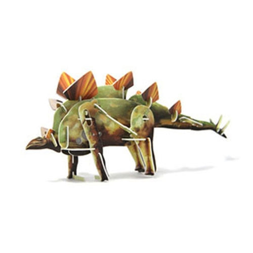 Play N Learn Science Toy 3D Wind-Up Puzzle Stegosaurus