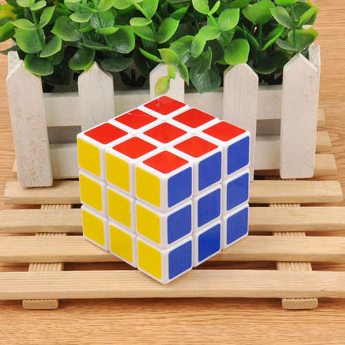 Developmental Toy For Kids Play N Learn IQ Coloured Cube