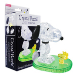 3D Crystal Puzzle Snoopy & Woodstock