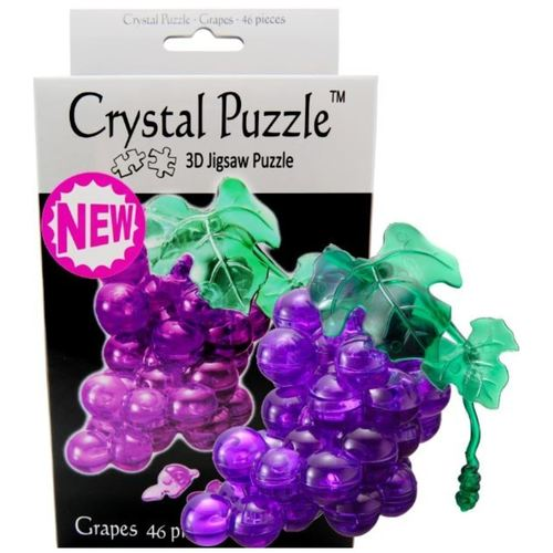 Purple Grape 3D Crystal Puzzle