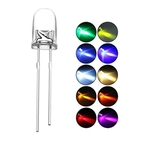 Science Experiment Components Play N Learn 7 Colours Single Blinking Led Bulbs  5mm  10 Pieces