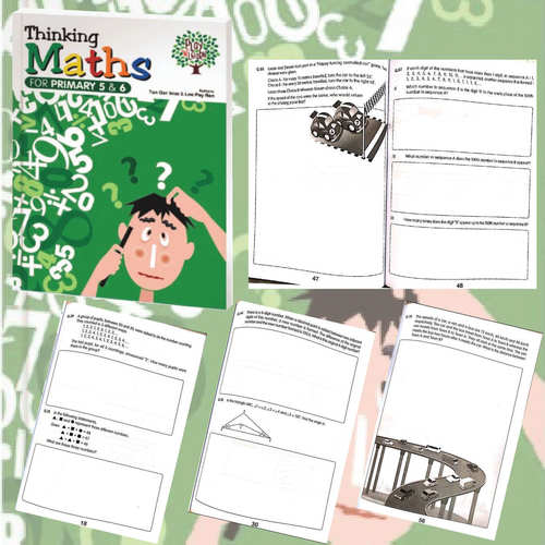 Play N Learn Smart Mathematics Thinking Mathematics For Primary 5 & 6