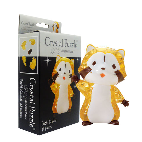 Puchi Rascal Character 3D Crystal Puzzle