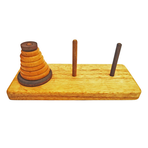 Play N Learn Mathematics Tower of Hanoi Game