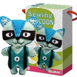 Play N Learn Art & Craft Raccoon Sewing Kit