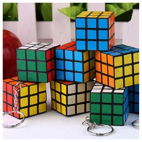 Developmental Toy For Kids Play N Learn Party Gift Mini IQ Coloured Cube 3 pieces per pack