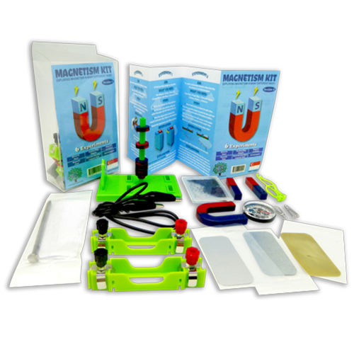 Play N Learn STEM 6 Experiments on Magnetism Kit