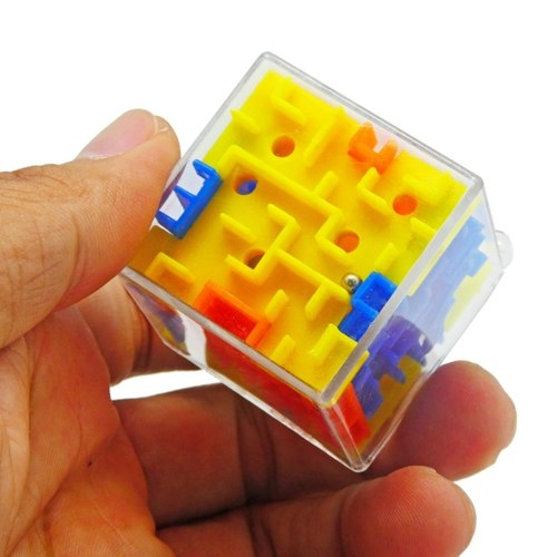 Play N Learn 3D Cube Maze