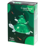Jigsaw Puzzle Play N Learn 3D Crystal Puzzle Turtles Mummy and Baby Gift Set