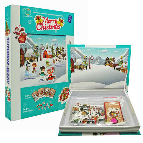 Magnetic Book - Christmas