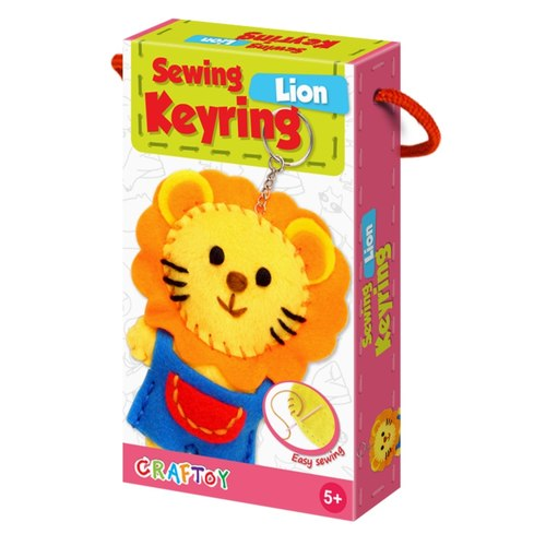 Lion Sewing Keyring