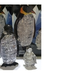 Jigsaw Puzzle Play N Learn 3D Crystal Puzzle Penguin Mummy and Baby Gift Set