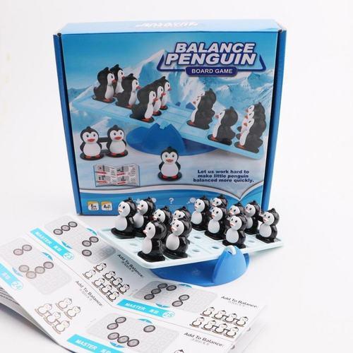 Play N Learn Balance Penguin Board Game