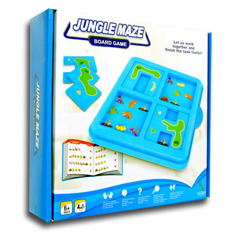 Play N Learn Jungle Maze Board Game