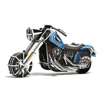 Play N Learn Science Toy 3D Wind-Up Puzzle MotorBike Wide G