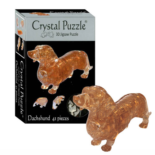 3D Crystal Puzzle Dachshund
