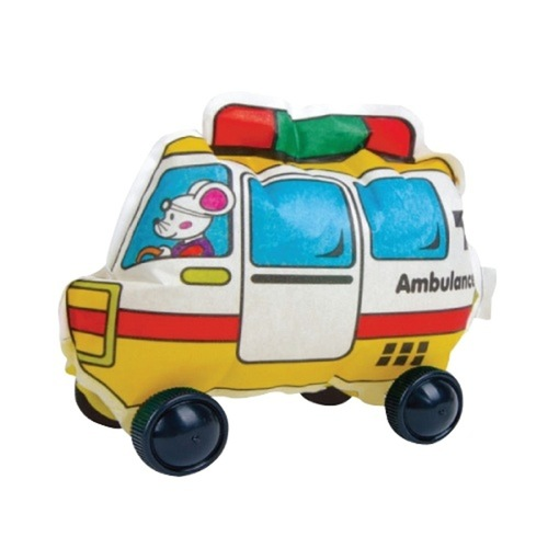 Play N Learn Colorloon  3D Vehicle DIY Kit - Fire Engine  10 PCS