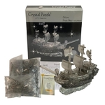 3D Crystal Puzzle Black Pirate Ship
