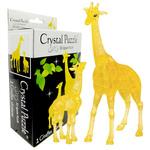 3D Crystal Puzzle Giraffe & Baby Set