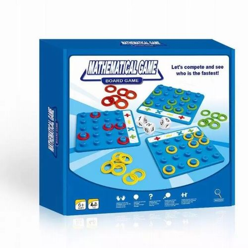 Play N Learn Mathematical Board Game