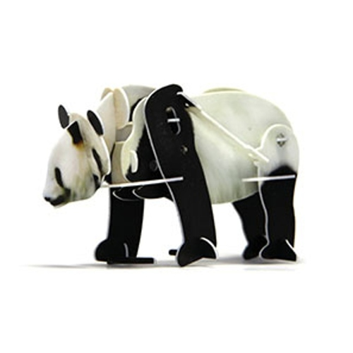Play N Learn Science Toy 3D Wind-Up Puzzle Panda