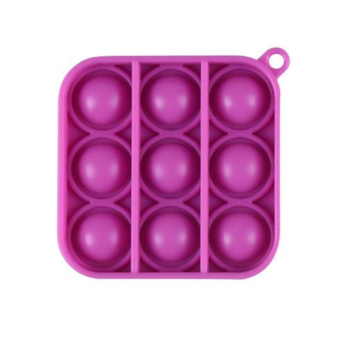 Play N Learn Educational Fidget Toy Stress Reliever  IQ Pop Bubble Keychain