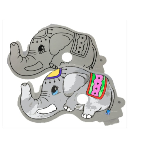 Design And Inflate Mask Elephant