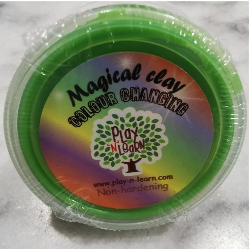 Putty Imaginative Play N Learn Party Gift Magical Clay Colour Changing Green