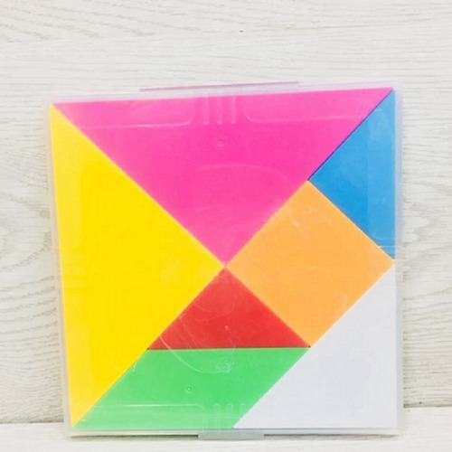 Creative Play Educational Toy Problem Solving Play N Learn Party Gift Plastic Tangram Set