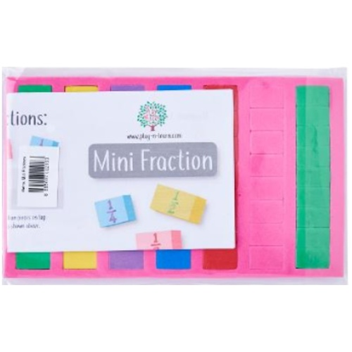 Play N Learn Maths Mini Fractions