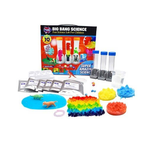 STEM Big Bang Amazing  10 Fun Science Chemistry Experiments For Kids Learning Resource
