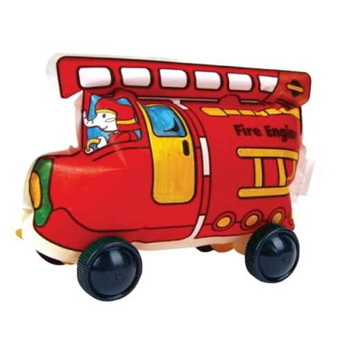 Play N Learn Colorloon / 3D Vehicle DIY Kit - Fire Engine ( 10 PCS )