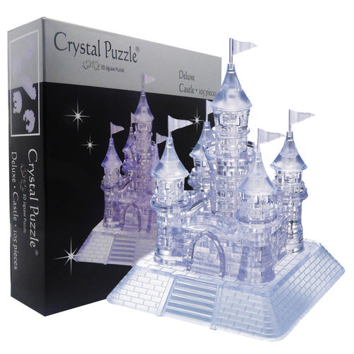 Castle Challenging 3D Crystal Puzzle