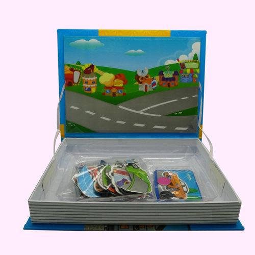 Magnetic Book - Traffic Tool