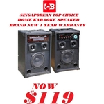 Martin Roland Karaoke Speaker With Amplifer MPA 660