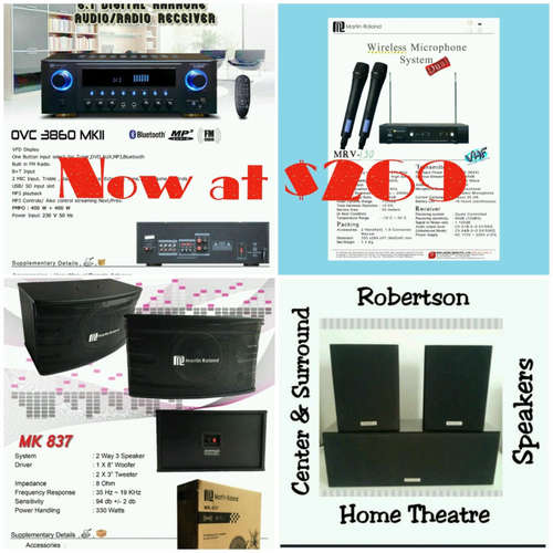 Martin Roland karaoke system package 16