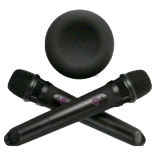 Popsical Remix Steaming Home Karaoke With Two Wireless Microphone
