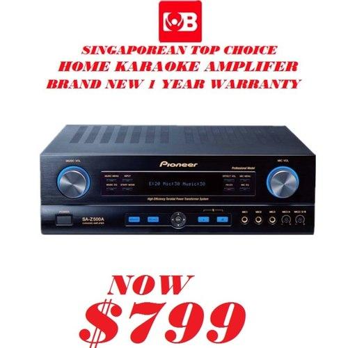 Pioneer Karaoke Amplifer SAZ-500A