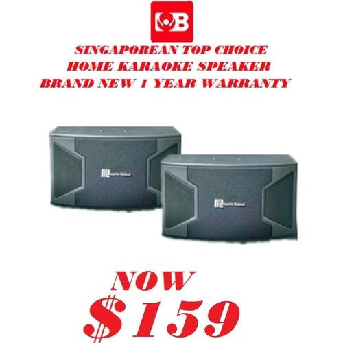 "Martin Roland Home Karaoke Speaker 10""MK-878"