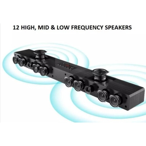 MB Full Home Karaoke Non-Touchscreen System With Karaoke Soundbar And UHF Wireless Microphone Songs Cover With Copyright License