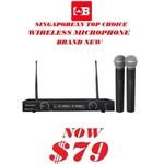 PREMIER UHF Wireless Microphone PRU-8208