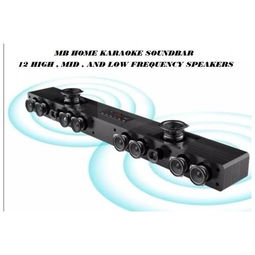MB Home karaoke soundbar With 8 Subwoofer