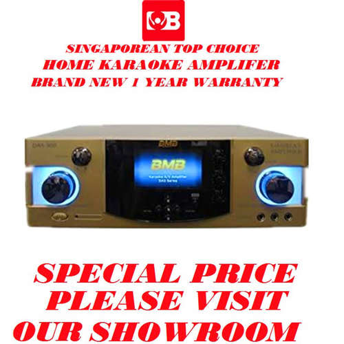 BMB DIGITAL KARAOKE AMPLIFER DAS-300