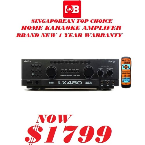 Bepro Karaoke Amplifer Model-LX480