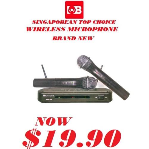 MARTIN ROLAND VHF Wireless Microphone MRV-128