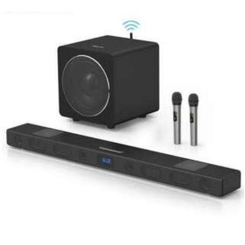 Home karaoke soundbar